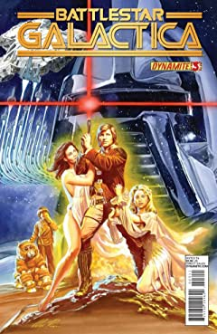 Classic Battlestar Galactica Vol. 2 #3: Digital Exclusive Edition