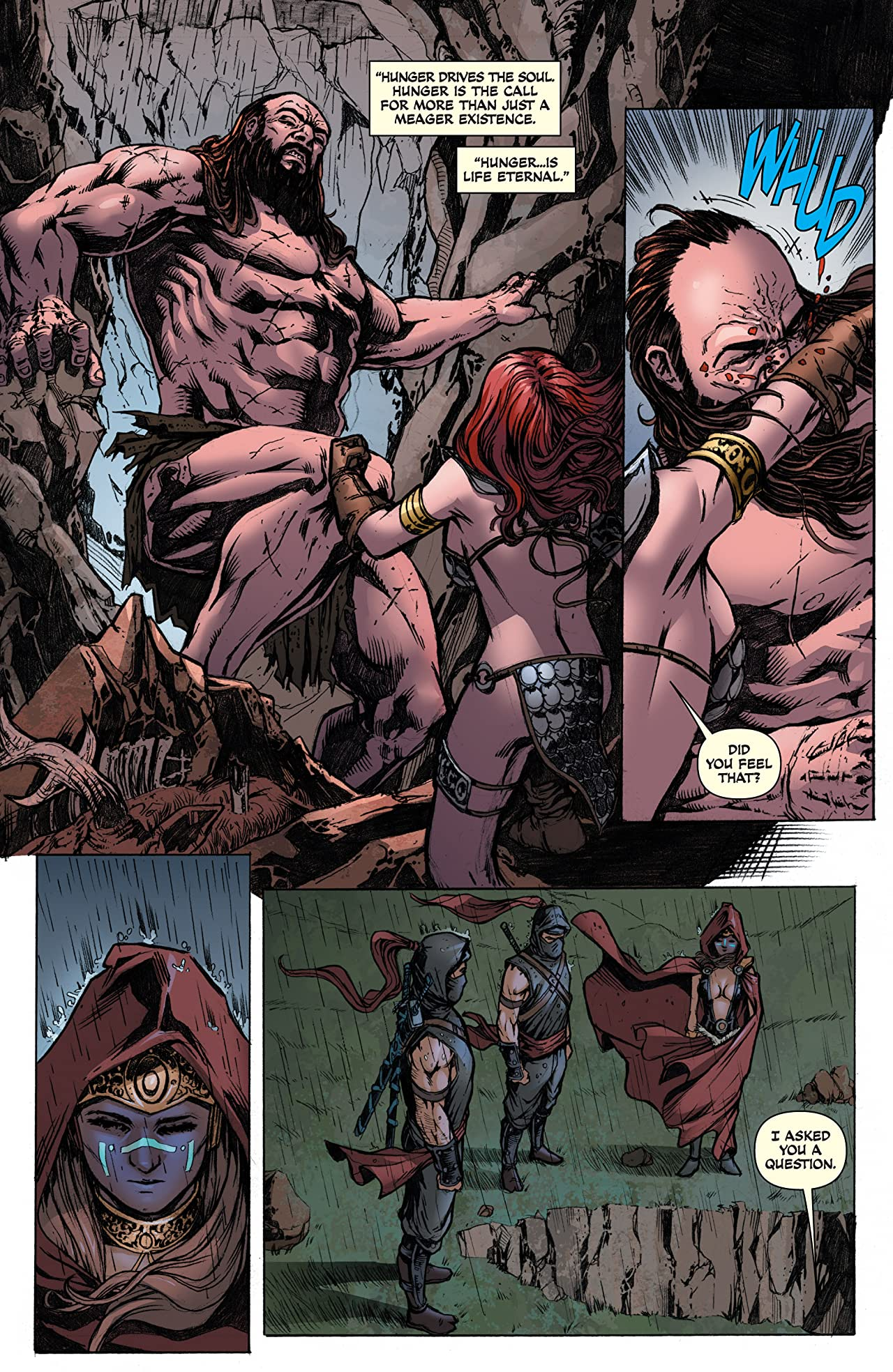 Red Sonja: She-Devil With A Sword #80