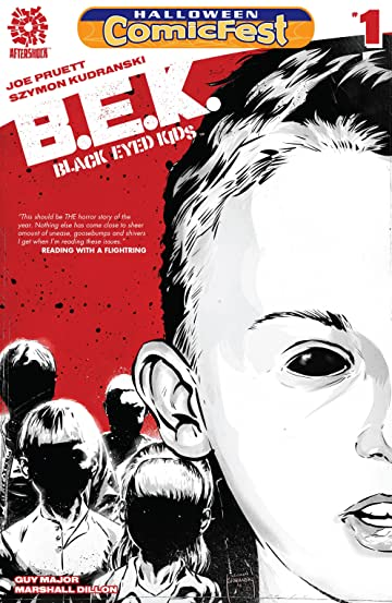 Black Eyed Kids #1: Black and White Special Edition