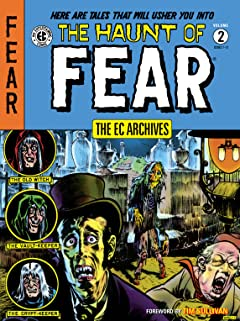 The EC Archives: The Haunt of Fear Vol. 2