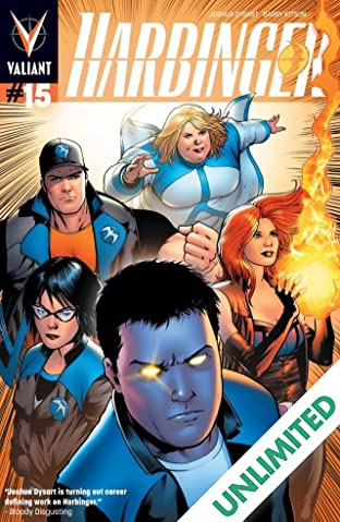 Harbinger (2012- ) #15: Digital Exclusives Edition