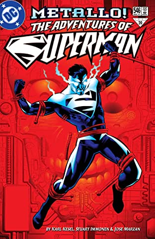 Adventures of Superman (1986-2006) #546