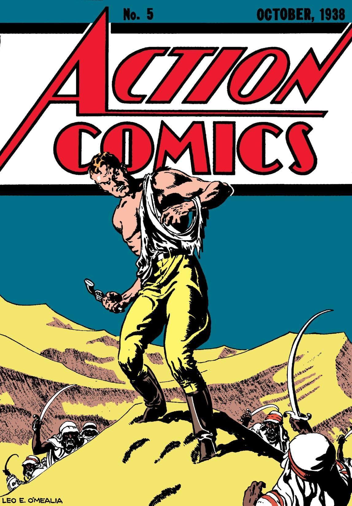Action Comics (1938-2011) #5
