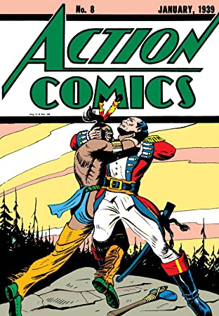 Action Comics (1938-2011) No.8