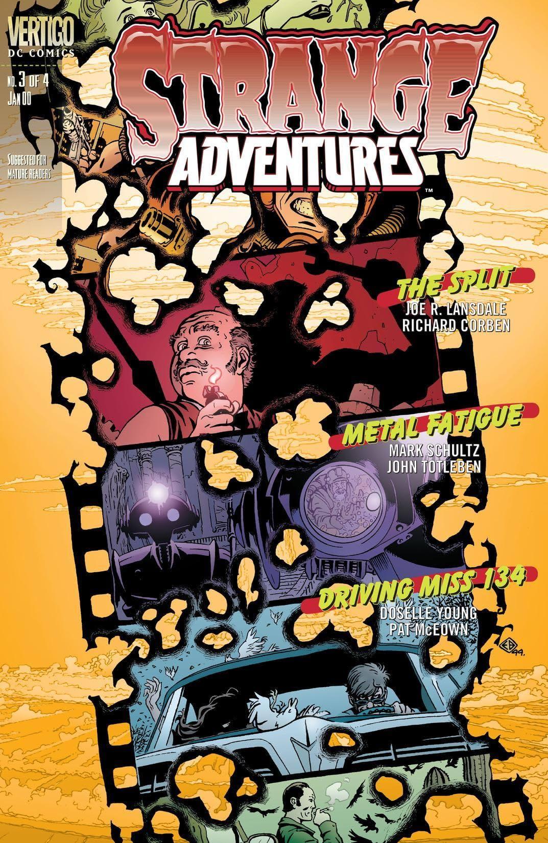 Strange Adventures (1999-2000) #3