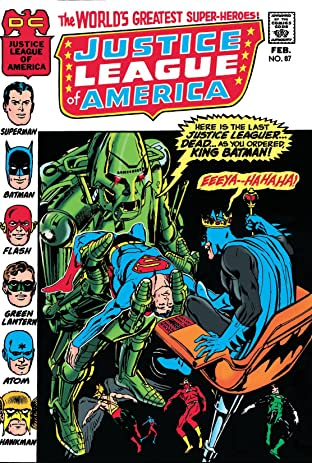 Justice League of America (1960-1987) #87