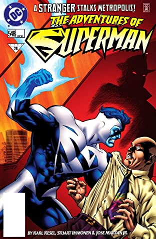 Adventures of Superman (1986-2006) #548