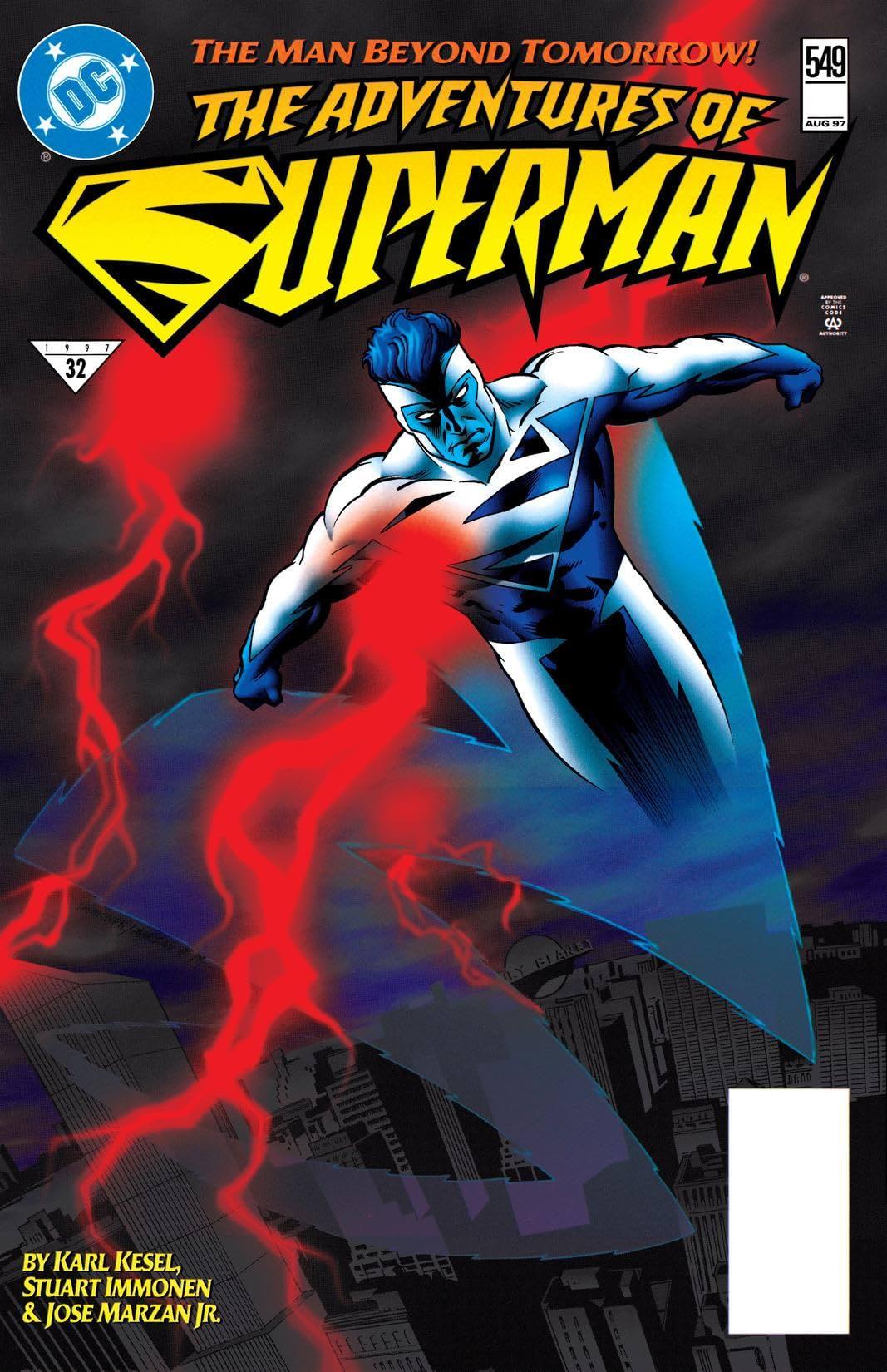 Adventures of Superman (1986-2006) #549