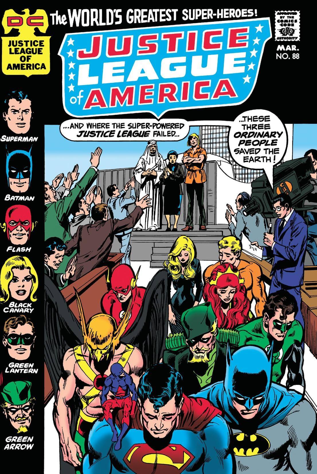 Justice League of America (1960-1987) #88