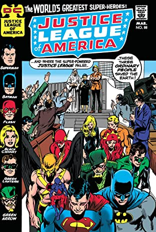 Justice League of America (1960-1987) #88