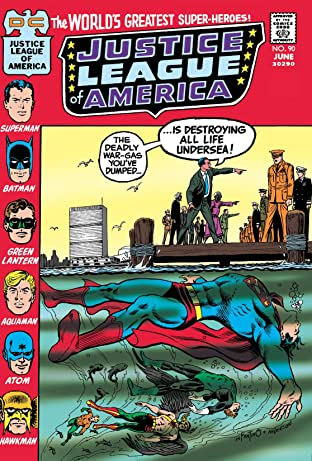 Justice League of America (1960-1987) #90