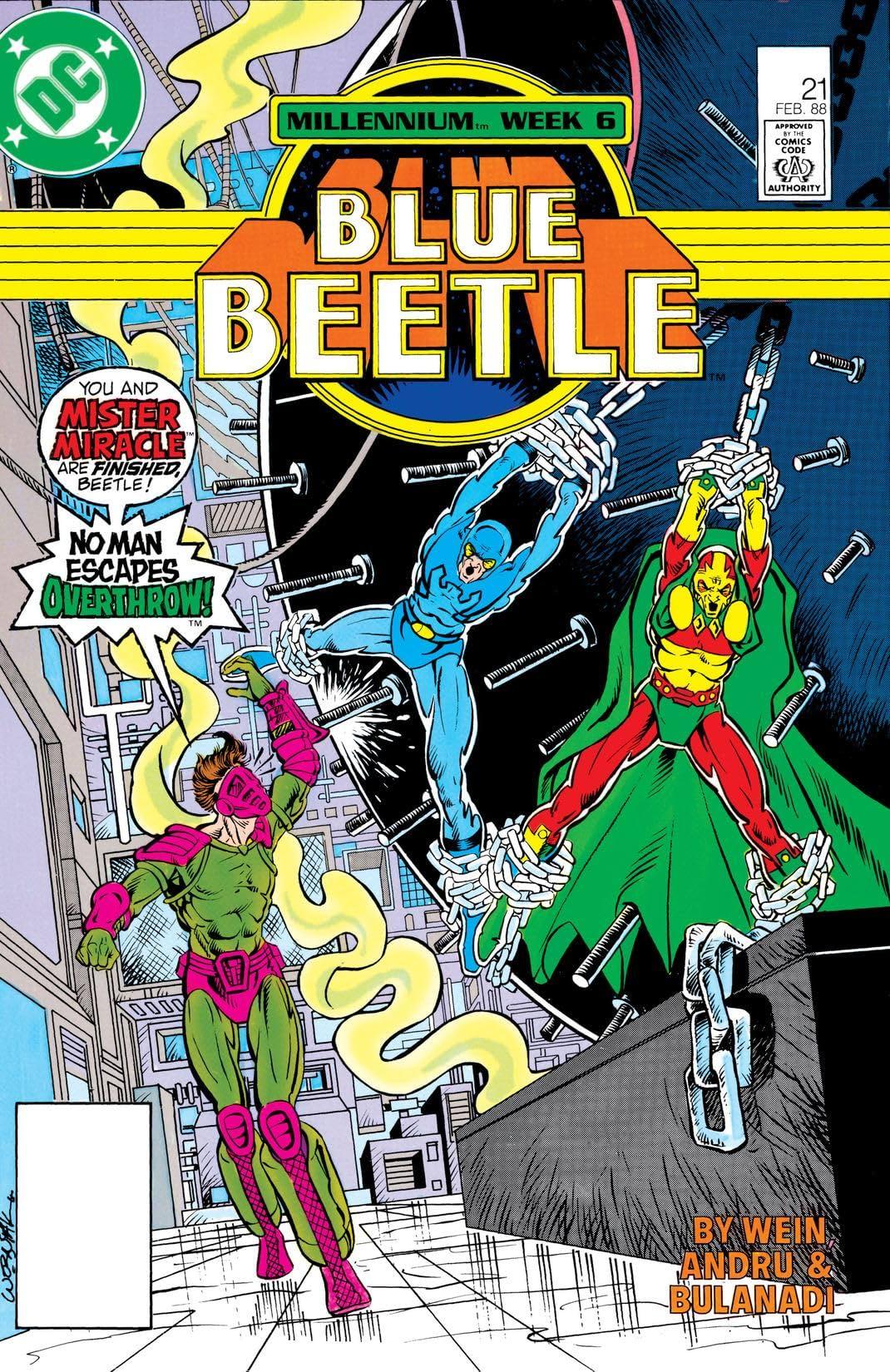 Blue Beetle (1986-1988) #21