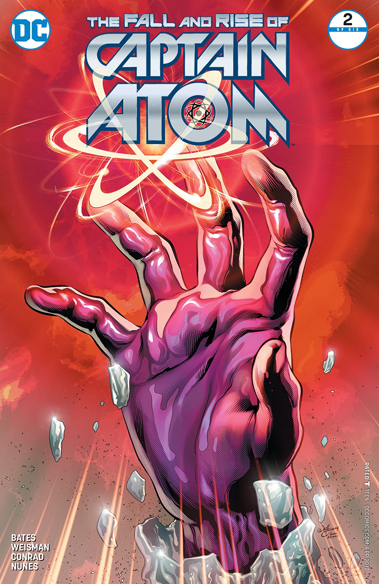 The Fall and Rise of Captain Atom (2017) #2