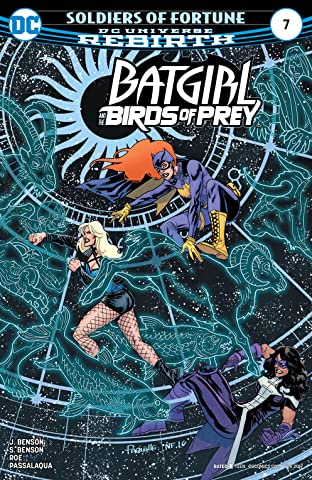 Batgirl and the Birds of Prey (2016-2018) No.7