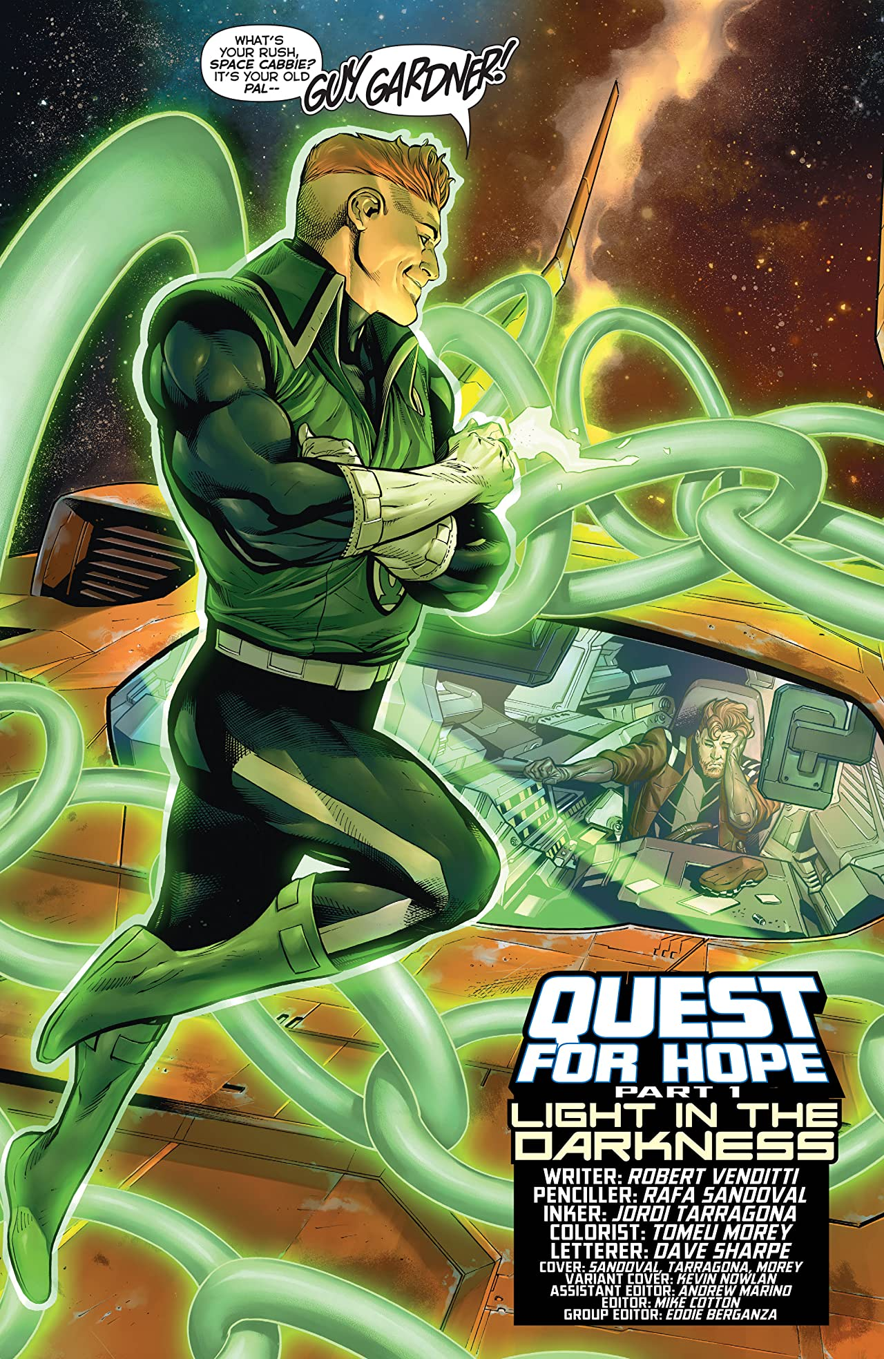 Hal Jordan and The Green Lantern Corps (2016-) #14