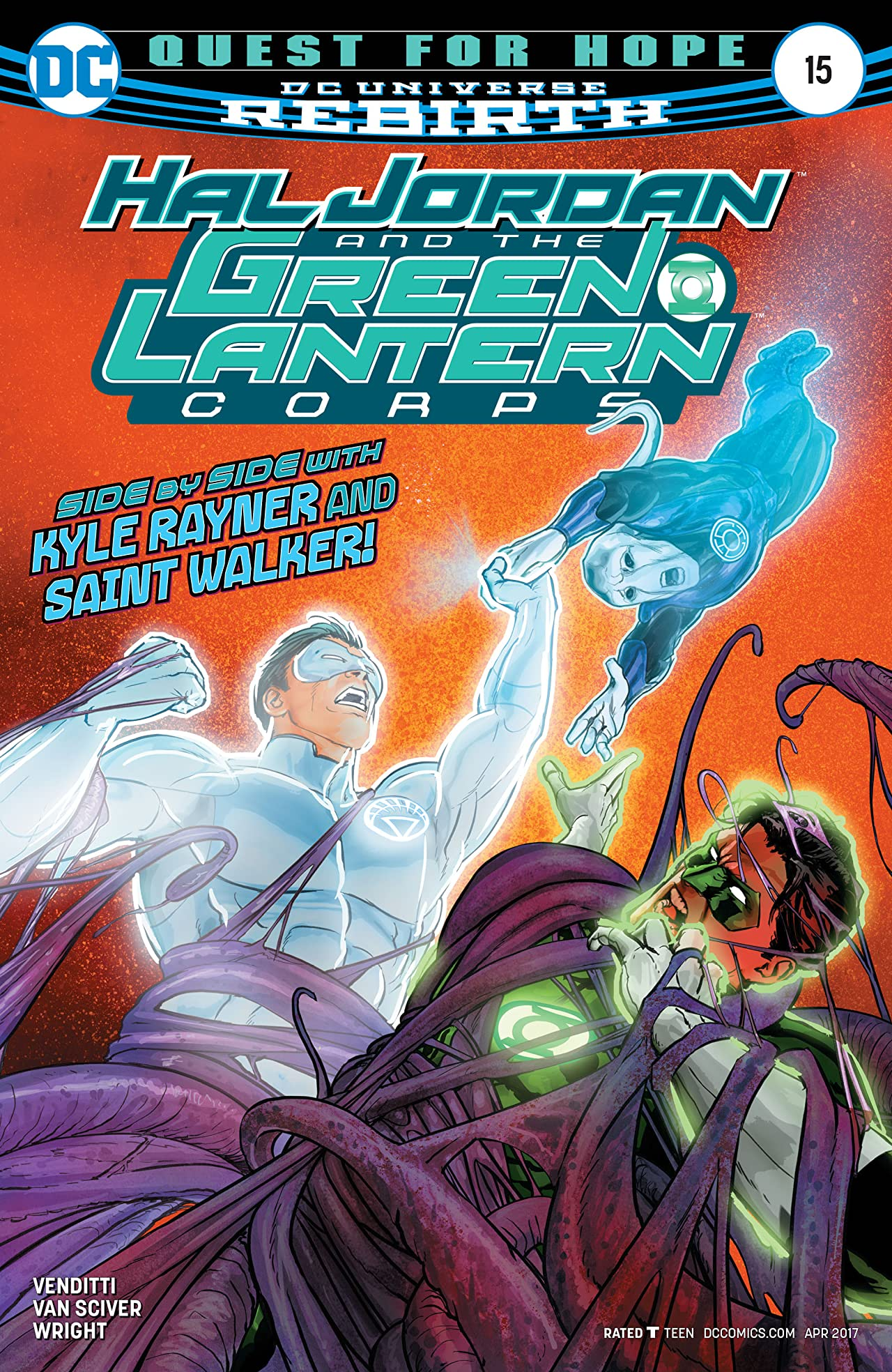 Hal Jordan and The Green Lantern Corps (2016-) #15