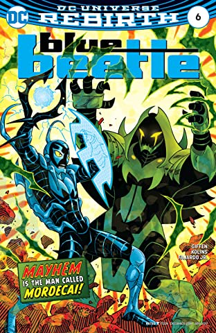 Blue Beetle (2016-) No.6