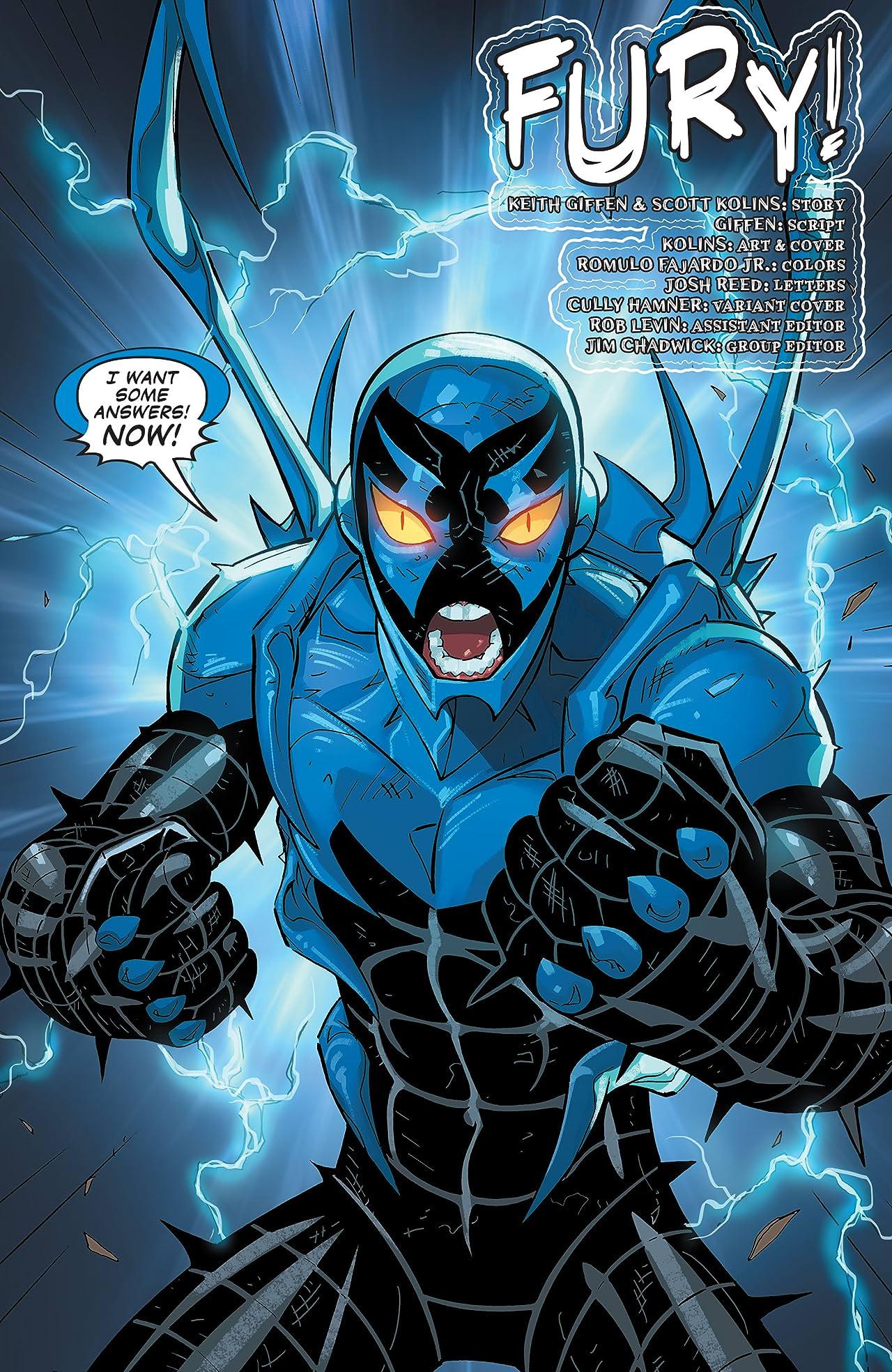 Blue Beetle (2016-) #6
