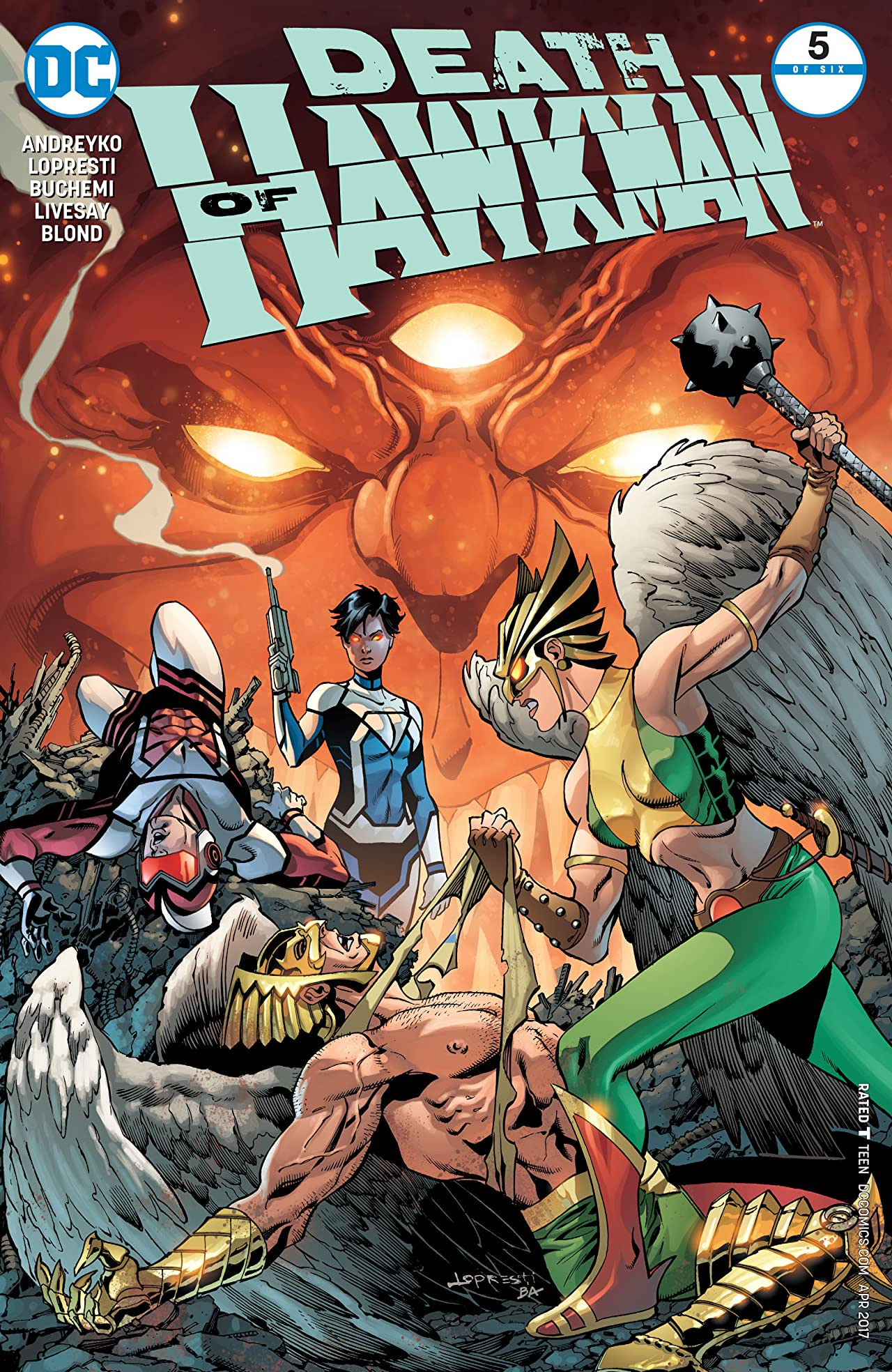 Death of Hawkman (2016-2017) #5