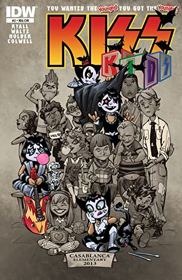 KISS Kids #2 (of 4)