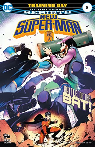 New Super-Man (2016-2018) #8