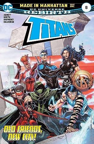 Titans (2016-2019) #8