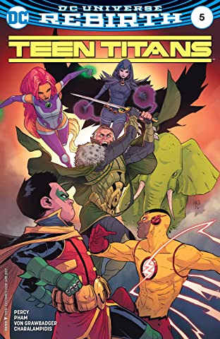 Teen Titans (2016-) No.5