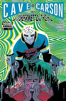 Cave Carson Has a Cybernetic Eye (2016-2017) #5