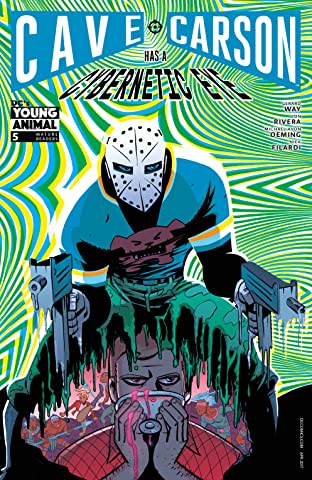 Cave Carson Has a Cybernetic Eye (2016-2017) #5