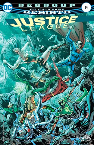 Justice League (2016-2018) No.14