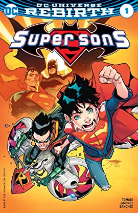 Super Sons (2017-2018) #1