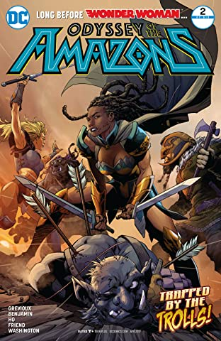 The Odyssey of the Amazons (2017-) #2