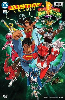 Justice League/Power Rangers (2017) #2