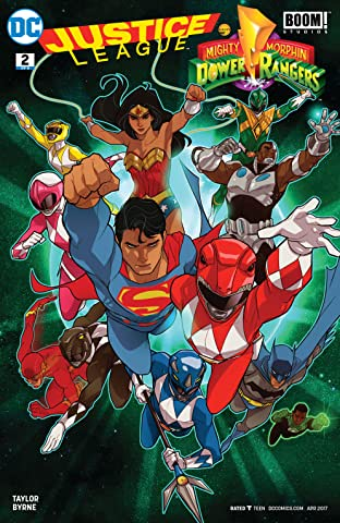 Justice League/Power Rangers (2017) #2