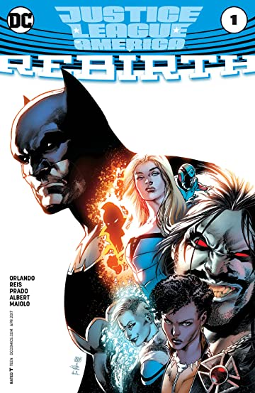 Justice League of America: Rebirth (2017) #1
