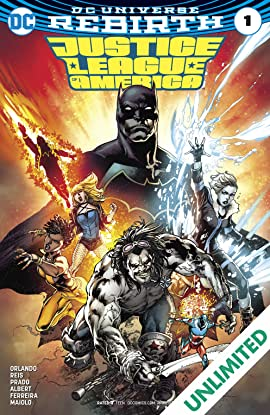 Justice League of America (2017-2018) #1