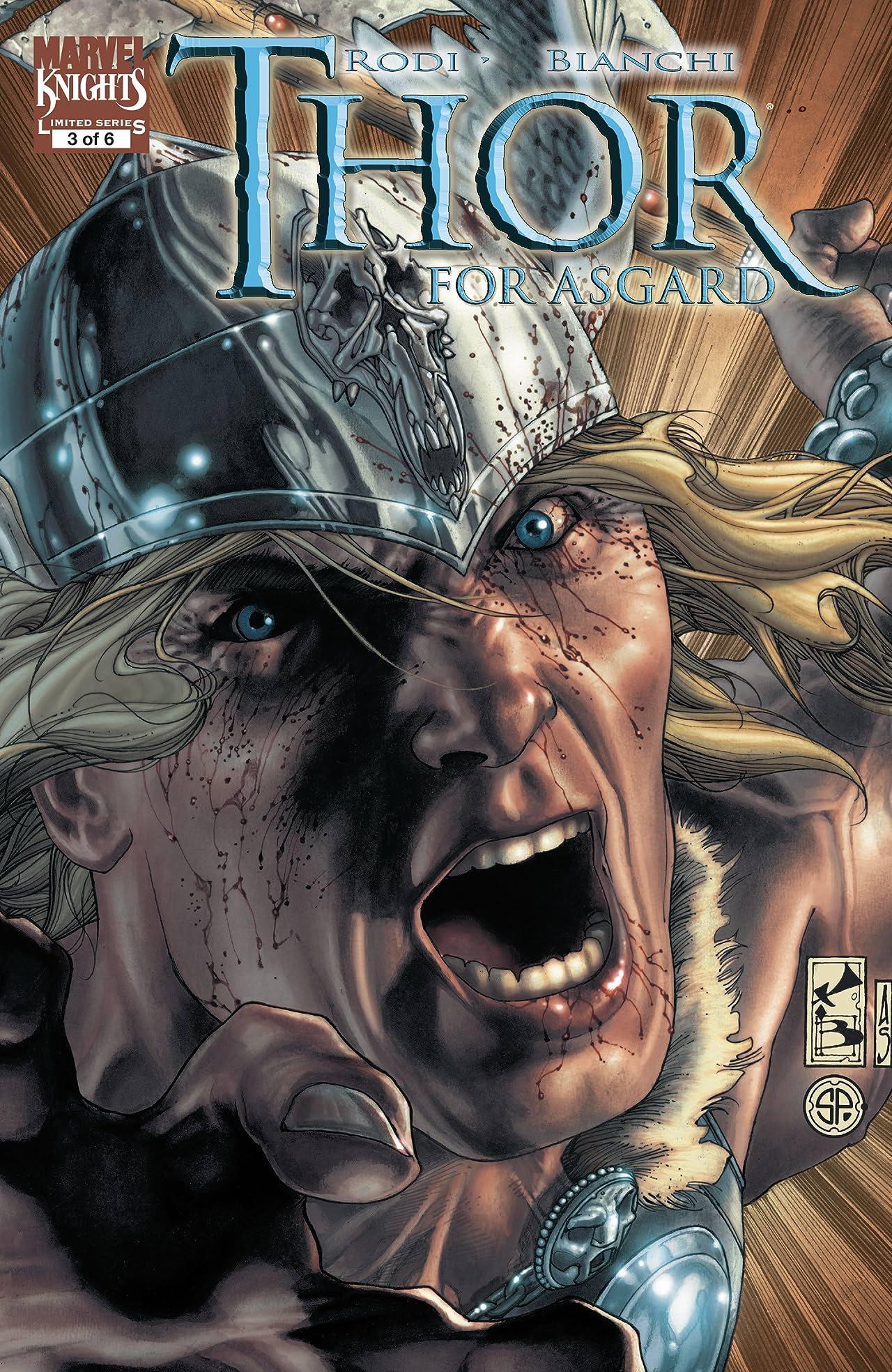 Thor: For Asgard (2010-2011) No.3 (sur 6)