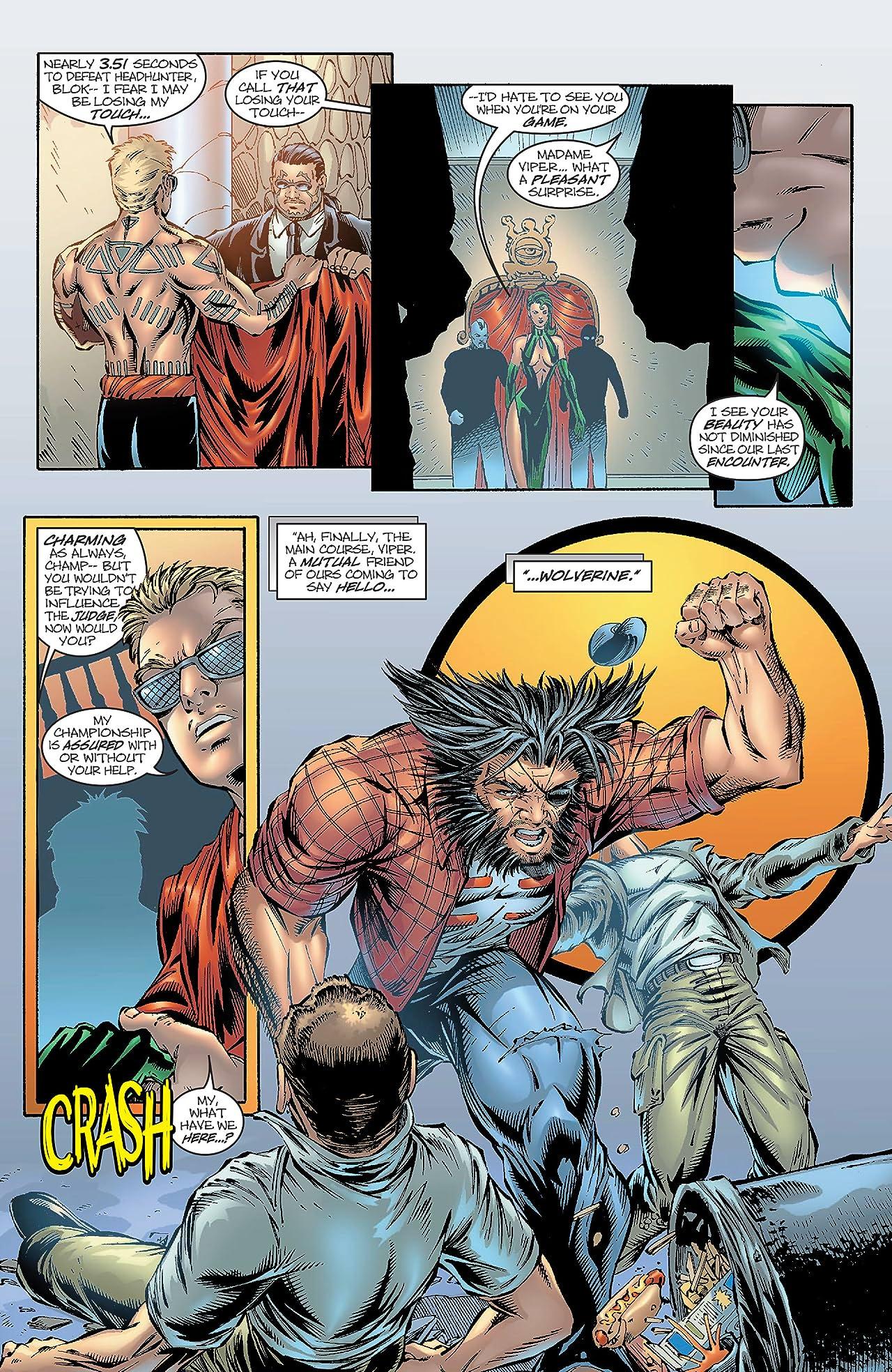 Wolverine (1988-2003) #168
