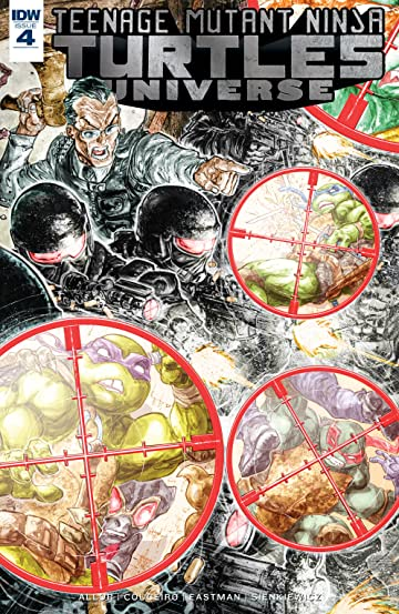 Teenage Mutant Ninja Turtles Universe #4
