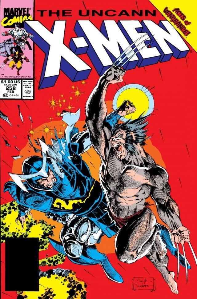 Uncanny X-Men (1963-2011) #258