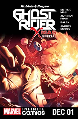 Ghost Rider X-Mas Special Infinite Comic #1