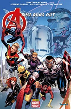 Avengers: Time Runs Out Vol. 4: La chute des dieux