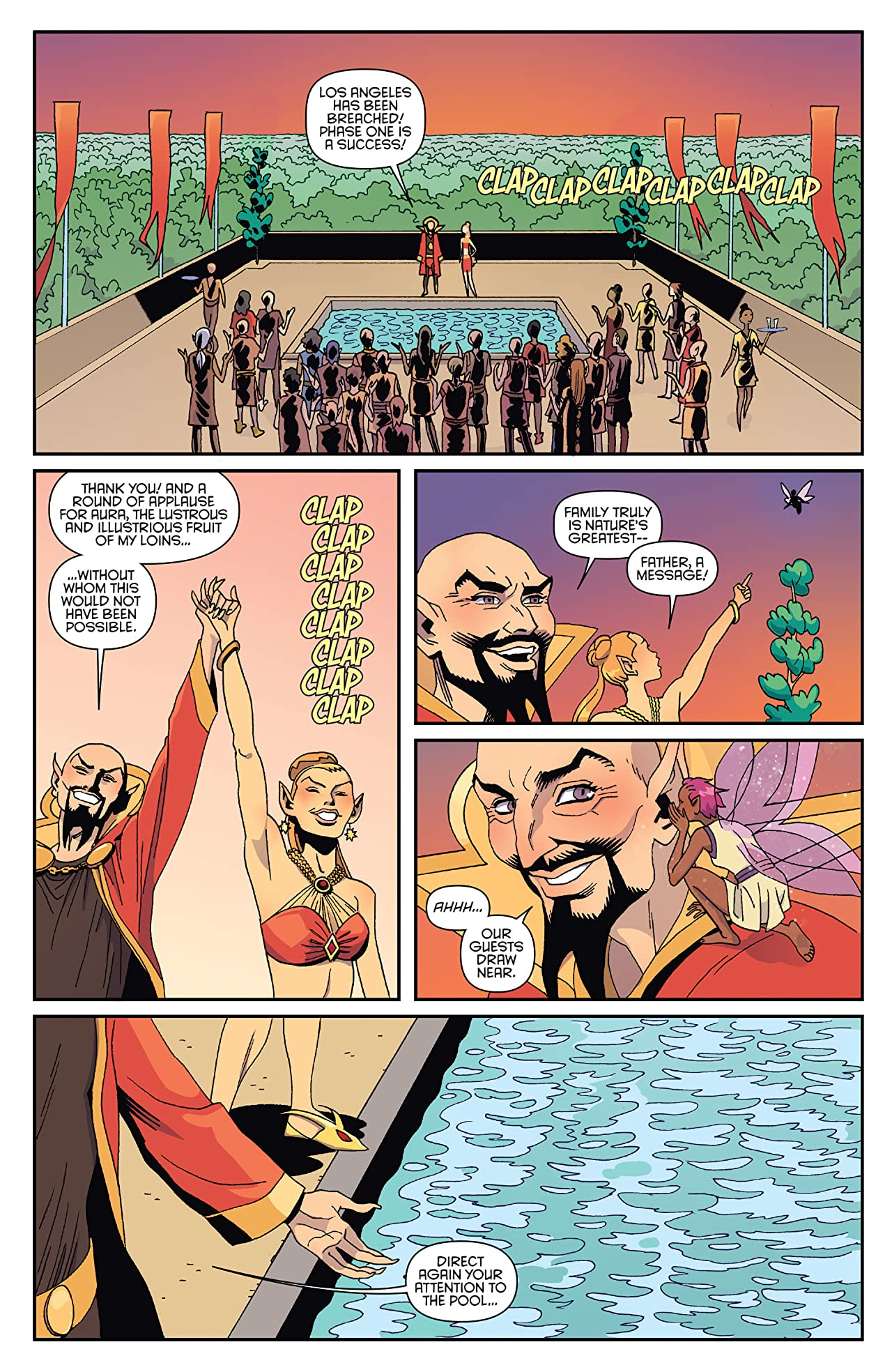 Flash Gordon: Kings Cross #4