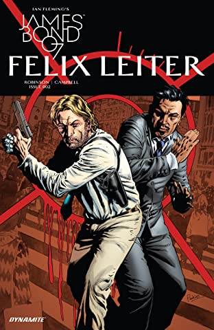 James Bond: Felix Leiter (2017) No.2 (sur 6)