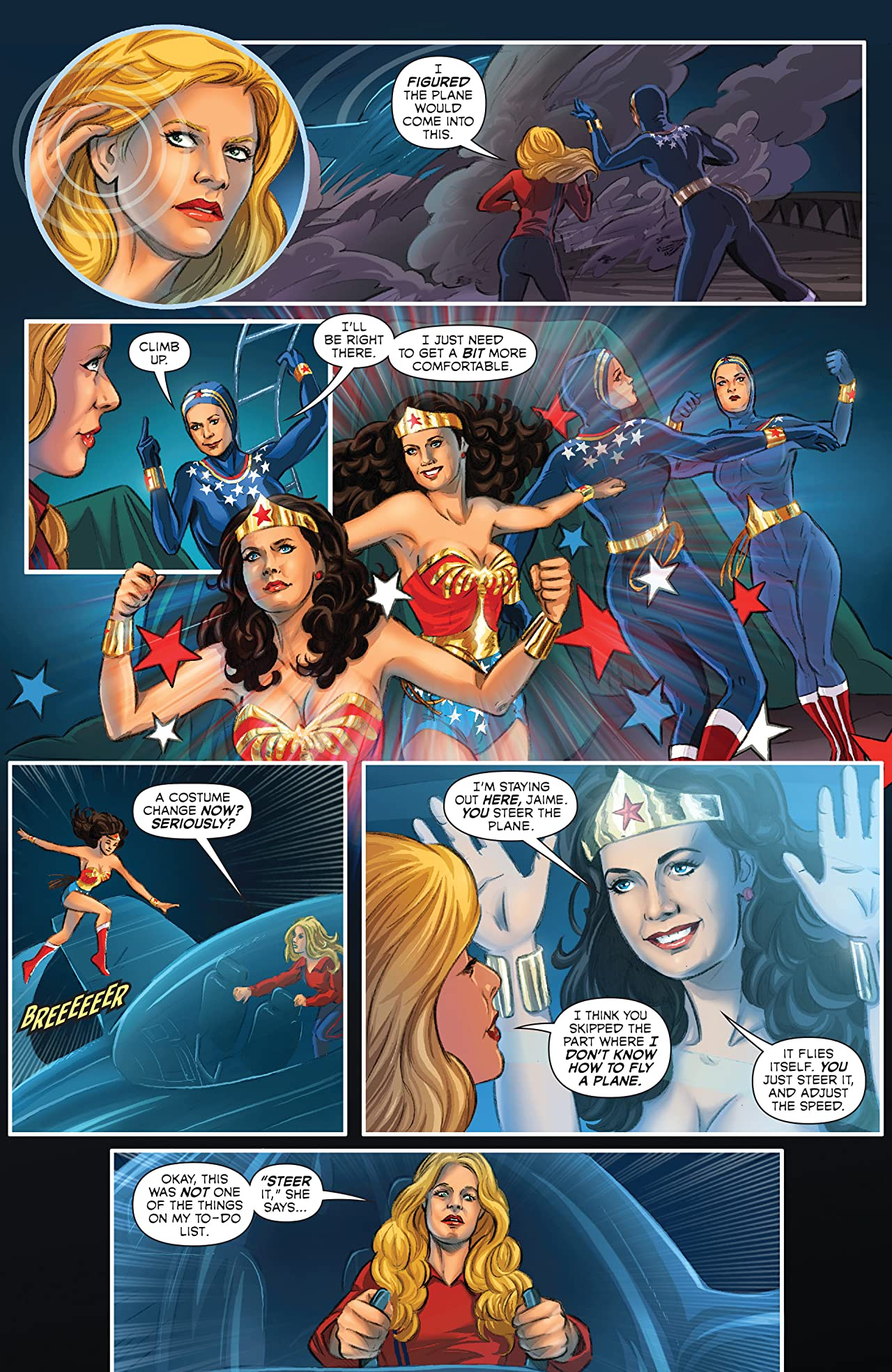 Wonder Woman '77 Meets The Bionic Woman #3