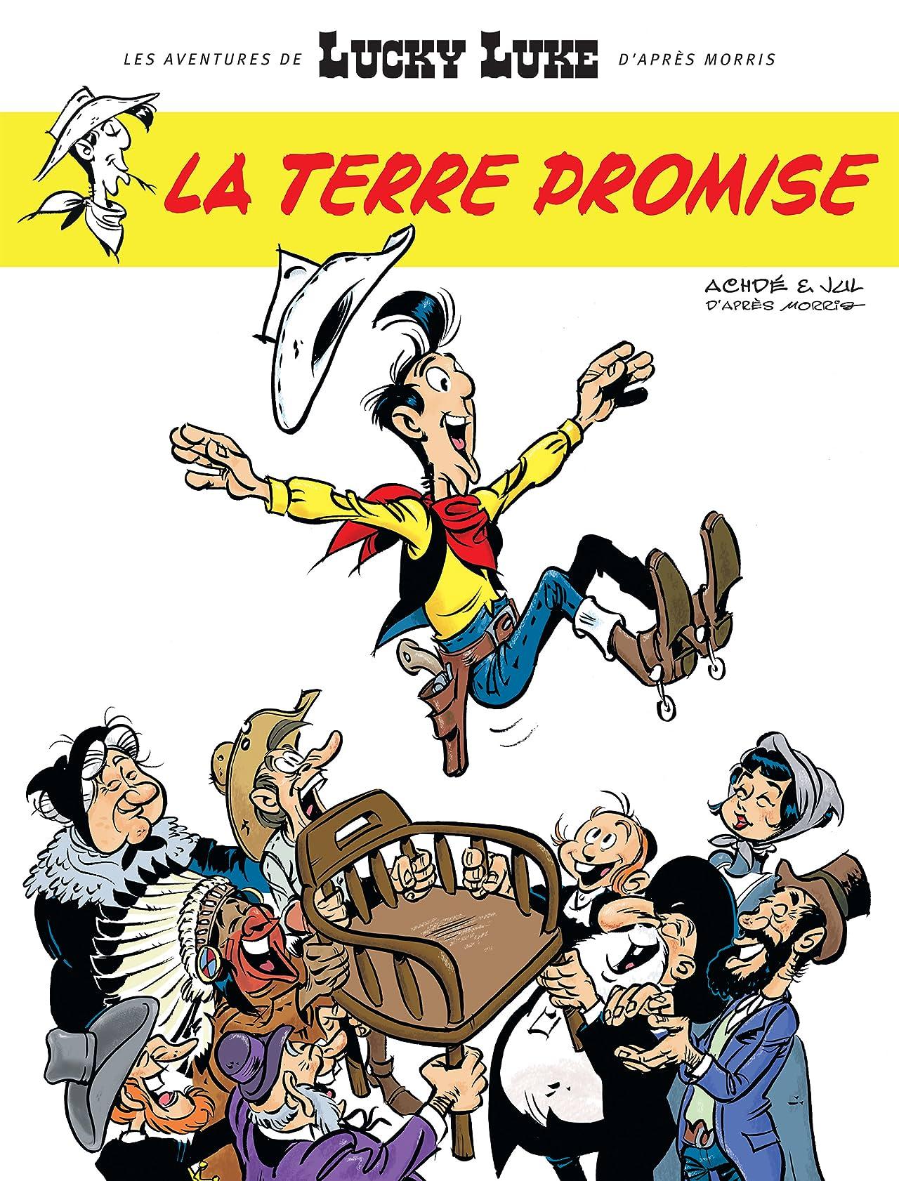 Les Aventures de Lucky Luke d'après Morris Vol. 7: La Terre Promise