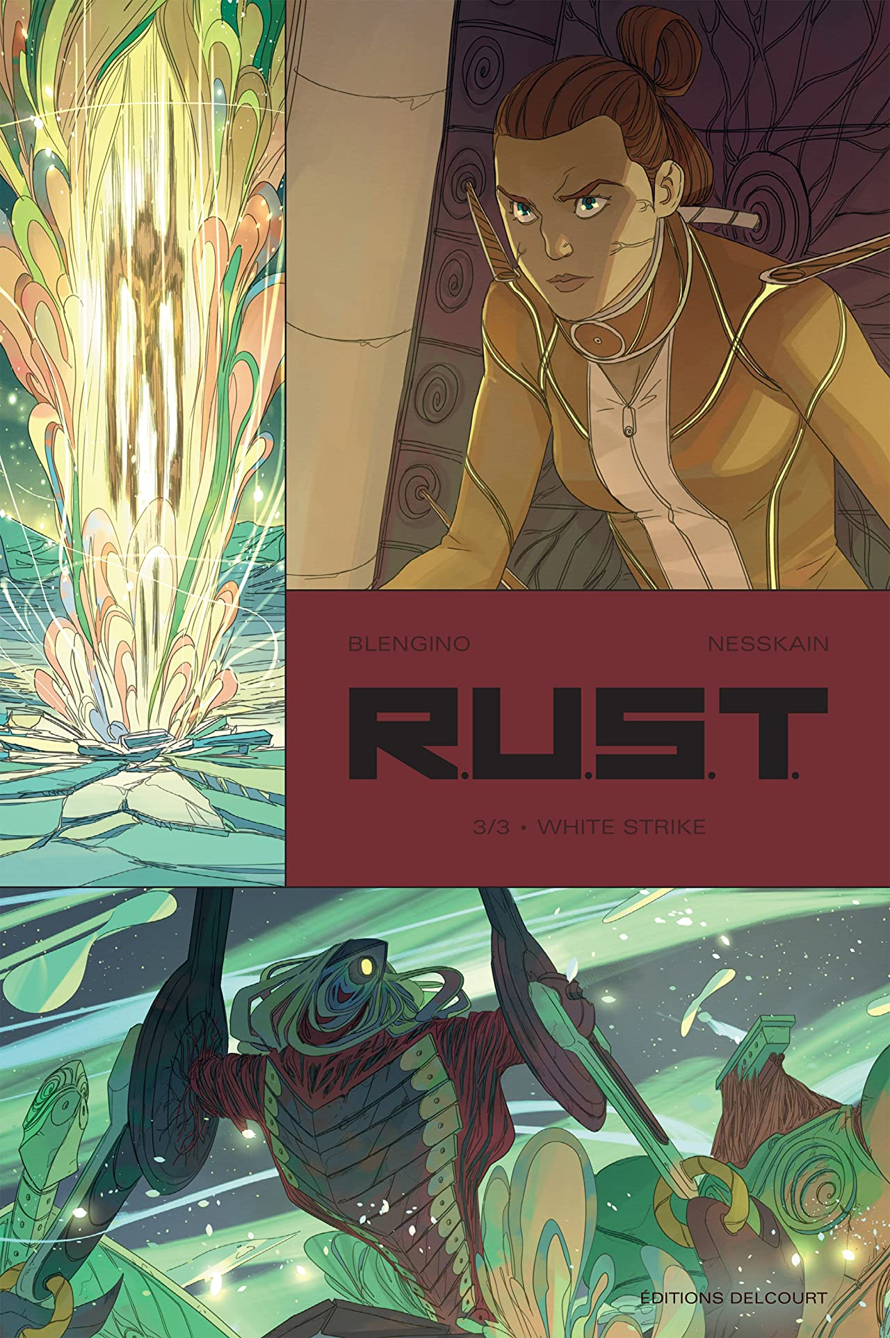 R.U.S.T. Vol. 3: White Strike