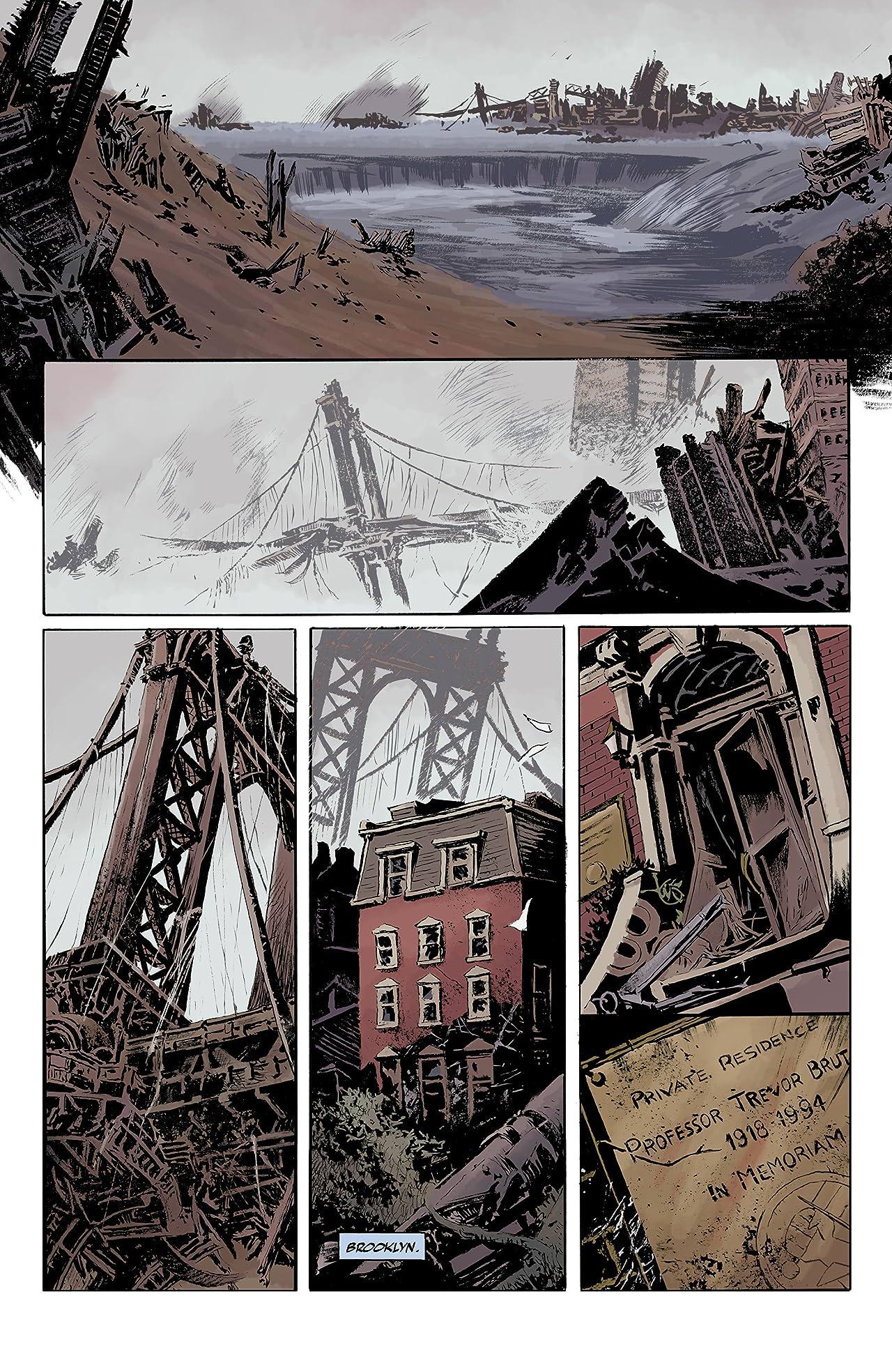 Abe Sapien Vol. 8: The Desolate Shore