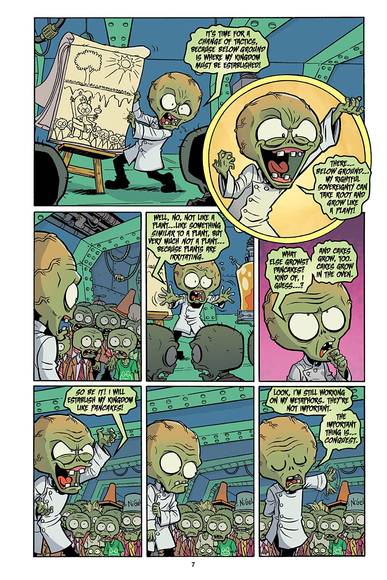 Plants vs. Zombies Vol. 6: Boom Boom Mushroom