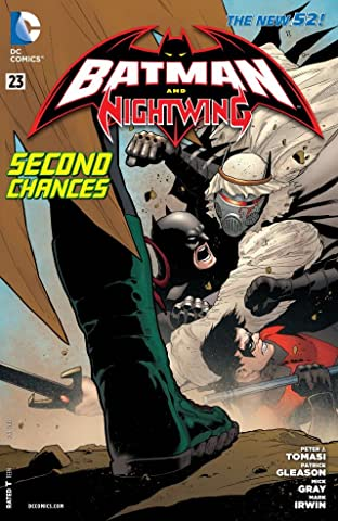 Batman and Robin (2011-2015) #23: Nightwing